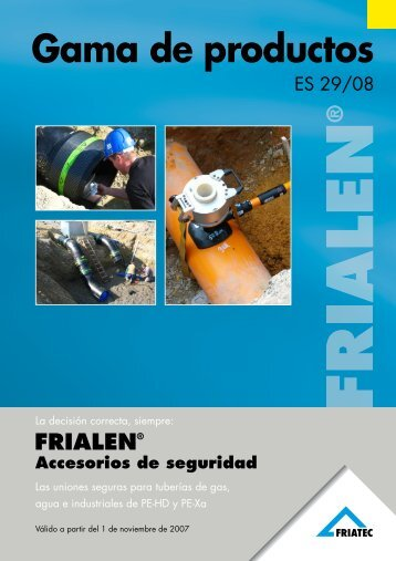 Gama de productos - Friatec AG