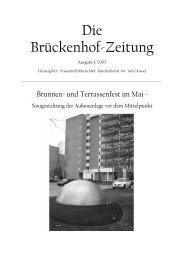 Ausgabe 1/2005 - Frauentreff Brückenhof