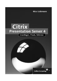 Citrix Presentation Server 4 - Galileo Computing
