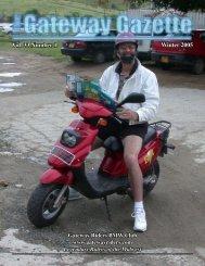 Vol. 33 Number 1 Winter 2005 - Gateway Riders Index