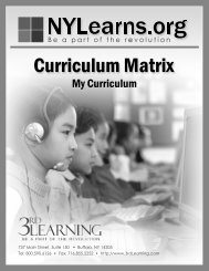 NYLearns My Curriculum - Frontier Central School District