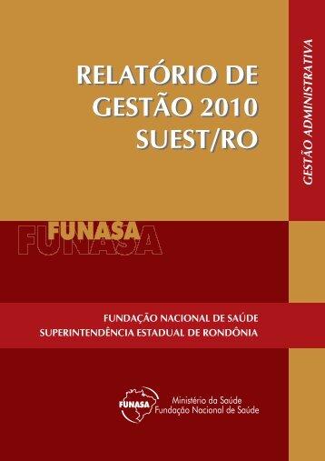 Suest/RO - Funasa