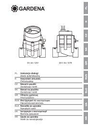 OM, Gardena, Zavlažovací ventil, Art 01251, Art 01278, 2012-09