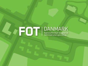 FOTdanmarks kartografinetværk - kortet bag ...