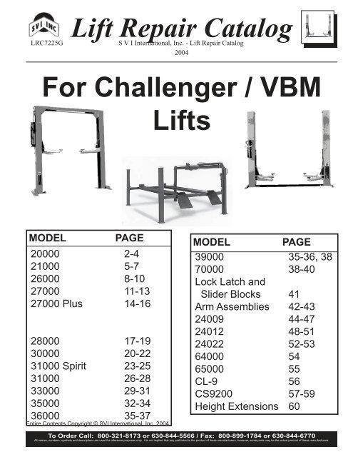 37016 VBM Challenger Ammco Air Release Valve