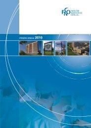 Výroční zpráva 2010 - Fakultní nemocnice Ostrava