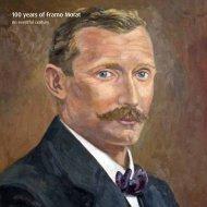 Anniversary Brochure - Framo Morat