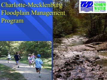 Charlotte-Mecklenburg Floodplain Management Program