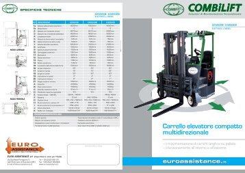 Carrello elevatore compatto multidirezionale - Forklift