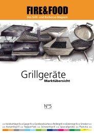 Grillgeräte - Fire & Food