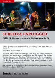 surselva unplugged - Flims