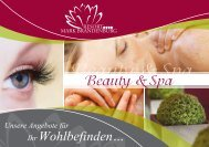 Beauty & Spa Angebote - Fontane Therme