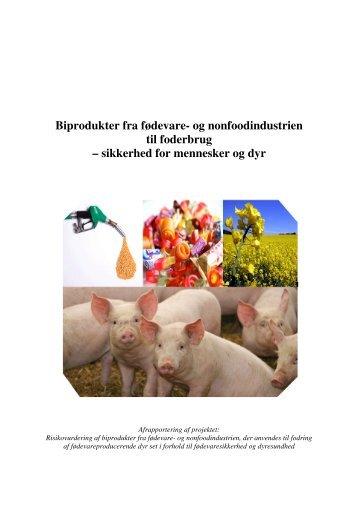 Biprodukter fra fødevare - Fødevarestyrelsen
