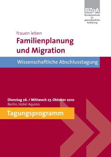 Familienplanung und Migration - Forschung - Sexualaufklärung ...