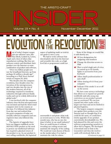 Insider November-December 2011 - G Scale News