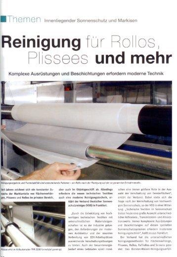 2010-05 eurodecor - Reinigungstechnik Frey GmbH