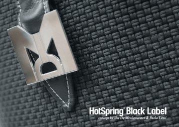 Download hier de Hotspring Black Label brochure ... - Fitness24