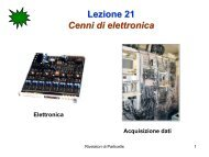 Lezione 21 Cenni di elettronica - Fisica