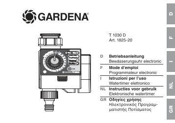 OM, Gardena, T1030D, 1825-20, 2011-01