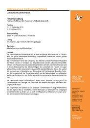 Programm Bildungsurlaub Fischland/Darß/Zingst Herbst 2013 ...