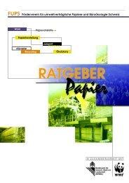 (FUPS): Ratgeber Papier