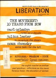 LIBERATION - Freedom Archives