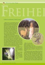 pdf-download Editorial - Magazin Freiheit für Tiere