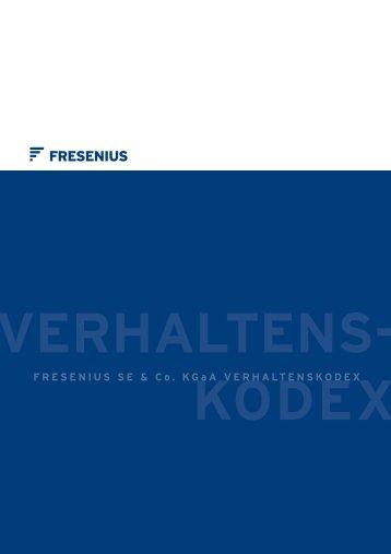 Der Fresenius Verhaltenskodex