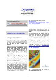 9 Infobrief - September 2010 - Forum-Bioenergetik eV