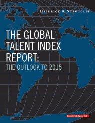 the global talent index - Forum Bildung
