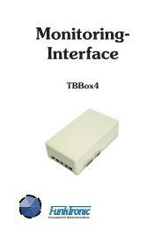 Monitoring- Interface TBBox4 - Funktronic