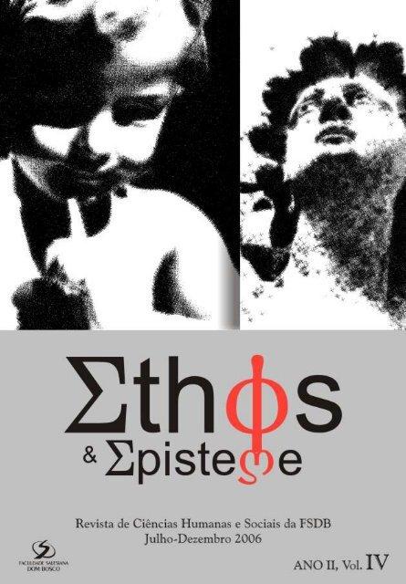 Revista Ethos & Episteme IV - Faculdade Salesiana Dom Bosco