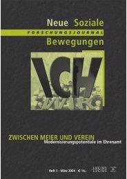 Vollversion (1.2 MB) - Forschungsjournal Soziale Bewegungen