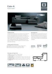 Ewald Schillig Cube A-Typenplan als PDF-Download