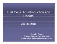 Fuel Cells: An Introduction and Update - Fuel Cells 2000
