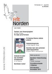May 2012 issue - Frit Norden