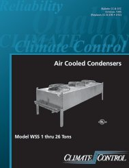 Climate Control 1-26 Ton Air Cooled Condensers