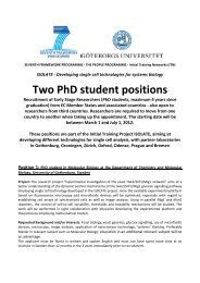 Two postdoc and two PhD positions in plant macroecology and