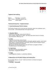 Tagebuch Internet-Blog Datum: Dienstag, 1. Juni ... - GastroSuisse