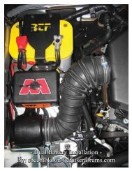 - Dual Battery Installation - By: sbechtold on fjcruiserforums.com ...