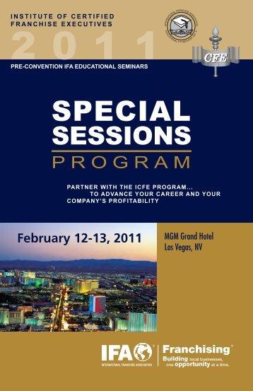Download the brochure - International Franchise Association