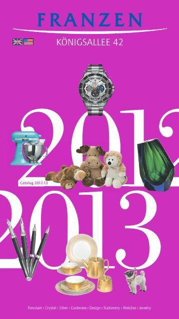 Franzen-Catalogue 2012/13