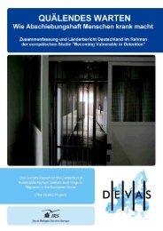 becoming vulnerable in detention - Forum Interkultur