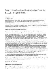Referat fra Generalforsamlingen 10/5 2009 - Grundejerforeningen ...