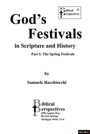 God's Festivals vol1.pdf - Friends of the Sabbath Australia