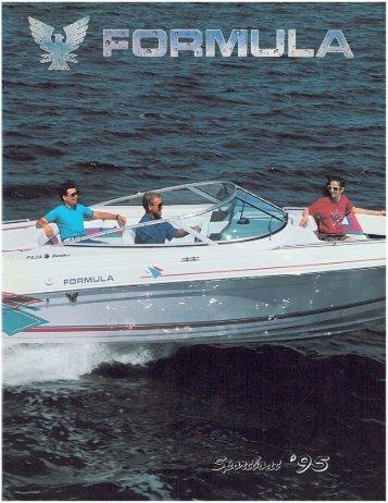 1995 Formula SportBoat Brochure.pdf - Formula Boats
