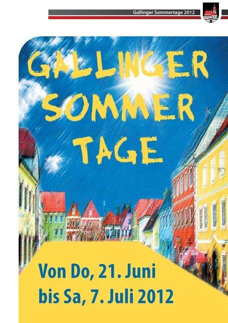 Von Do, 21. Juni bis Sa, 7. Juli 2012 - Gallneukirchen