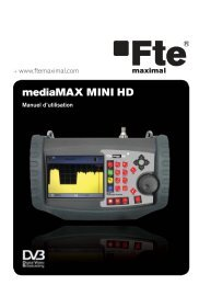 mediaMAX MINI HD - FTE Maximal