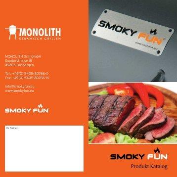 Smoky Fun Katalog BBQ Smoker - Gardelino