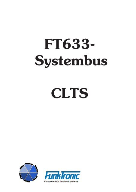 FT633- Systembus CLTS - Funktronic